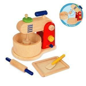Food mixer and baking set for Toy Kitchen