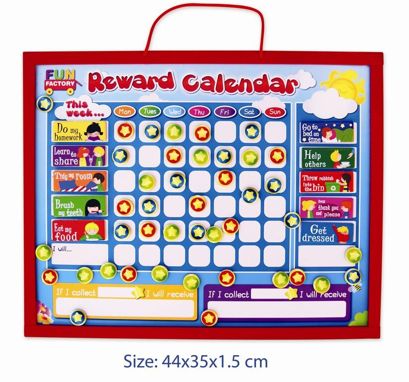 Fun Factory Magnetic Reward Chart-Fun Factory-My Happy Helpers