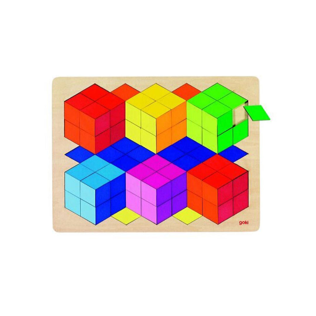 Goki Puzzle 3D-GOKI-My Happy Helpers