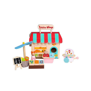 Grocery Store with Carry House-Kaper Kidz