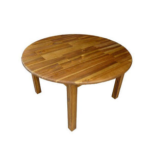 Hardwood Medium Round Table with 2 Standard Chairs-[product_vendor-My Happy Helpers