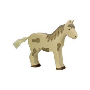 Holztiger - Horse, Standing Dappled-[product_vendor-My Happy Helpers