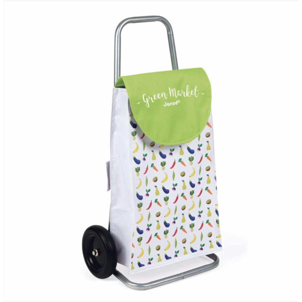 Janod Green Grocer Market Trolley-[vendor]-My Happy Helpers