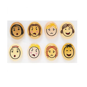 Jumbo Emotion Stones – Set of 8-Educational Experience