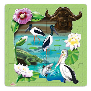 Kakadu Wetlands Puzzle-[product_vendor-My Happy Helpers