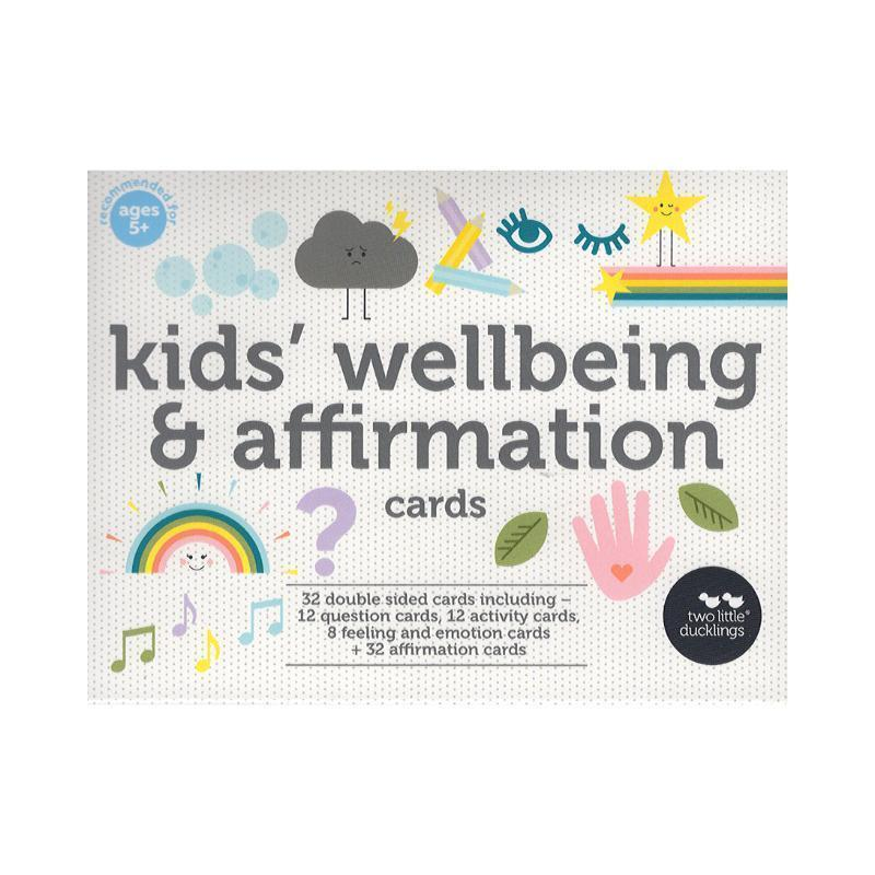 Kids Affirmation Cards | Well-being Flashcards-Two Little Ducklings-My Happy Helpers