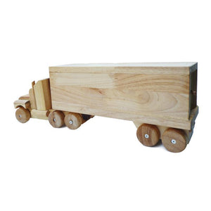Kids Wooden Cargo Truck QToys-[product_vendor-My Happy Helpers