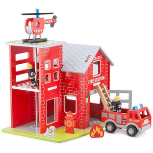 Large Fire Station-New Classic Toys