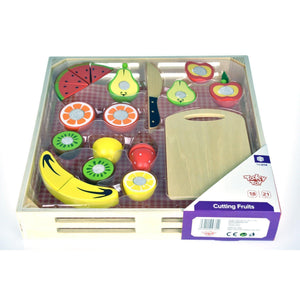 Large Tray of Wooden Cutting Fruits-[product_vendor-My Happy Helpers
