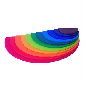 Large Wooden Rainbow Semi Circles-[product_vendor-My Happy Helpers