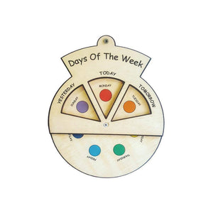 Learning Wheels - Days of the Week-Minisko-My Happy Helpers