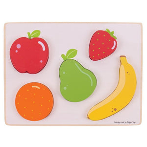 Lift and See Fruit Puzzle-Bigjigs