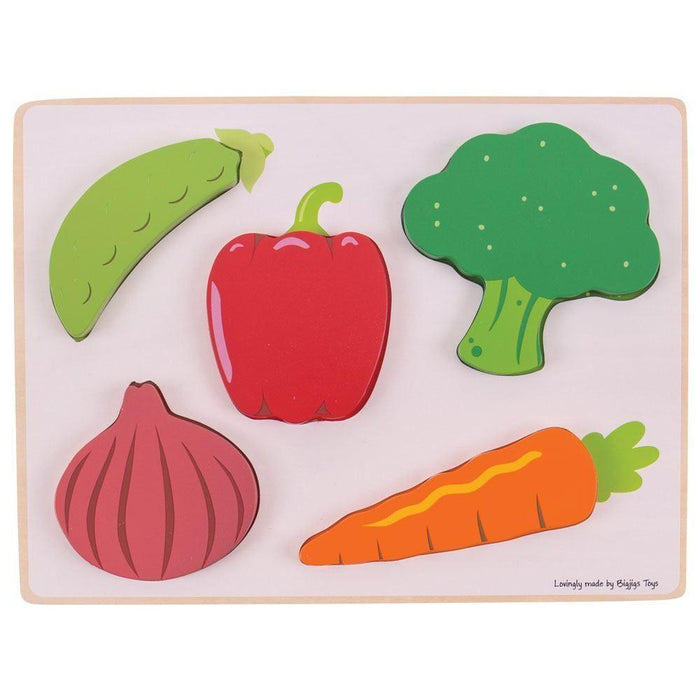 Lift and See Vegetable Puzzle