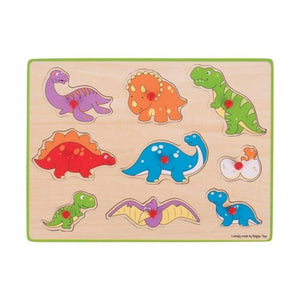 Lift Out Puzzle - Dinosaurs-Bigjigs