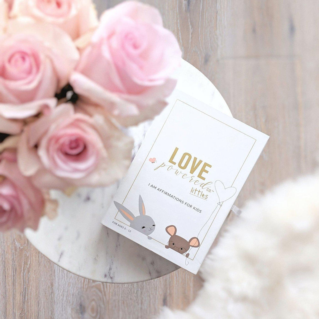 Love Powered Toddler Affirmation Cards-[vendor]-My Happy Helpers