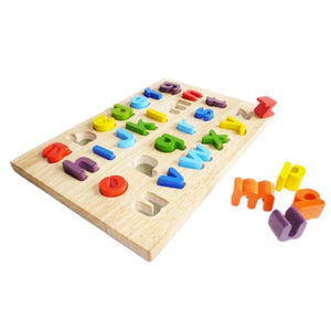 Lower case Letter Puzzle-Qtoys-My Happy Helpers
