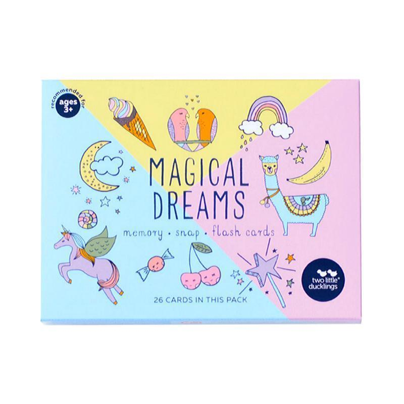 Magical Dreams Flashcards, Snap and Memory Game Set-Two Little Ducklings-My Happy Helpers Pty Ltd