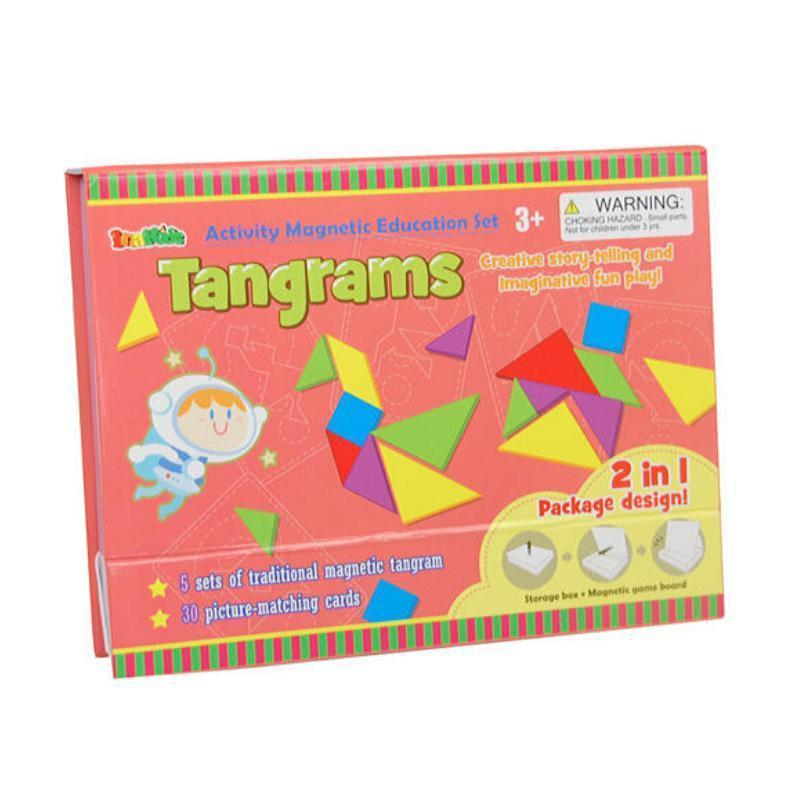 Magnetic Activity Set - Tangrams-Inakids-My Happy Helpers