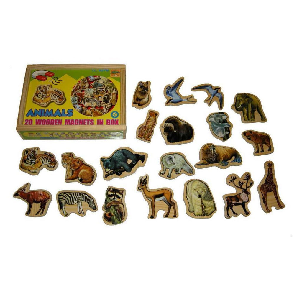Magnetic Animal Wooden Box-Kaper Kidz-My Happy Helpers Pty Ltd
