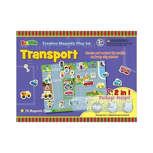 Magnetic Story Board - Transport-[product_vendor-My Happy Helpers