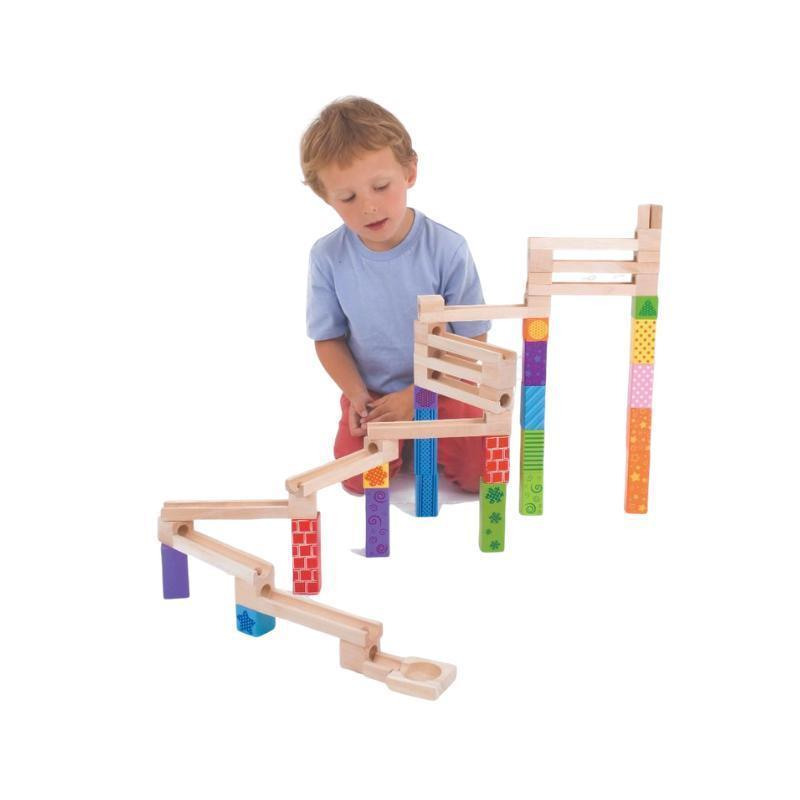 Marble Run - Wooden-Bigjigs-My Happy Helpers Pty Ltd