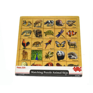 Matching Puzzle Animal Skin-[product_vendor-My Happy Helpers