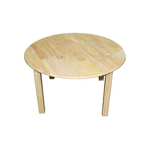 Medium Round Table with 2 Standard Chairs-Qtoys