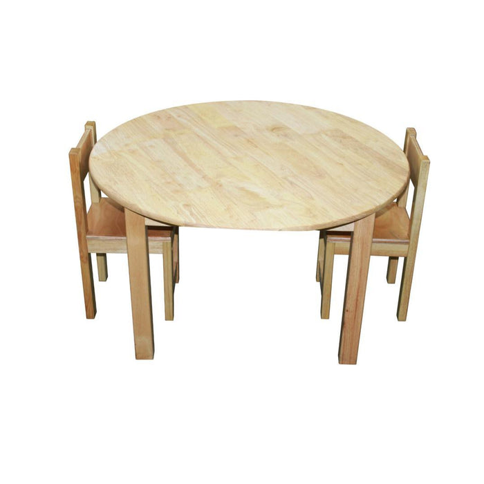 Medium Round Table with 2 Standard Chairs
