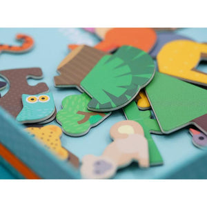 Mier Edu Magnetic Art Case - Animal World-[product_vendor-My Happy Helpers
