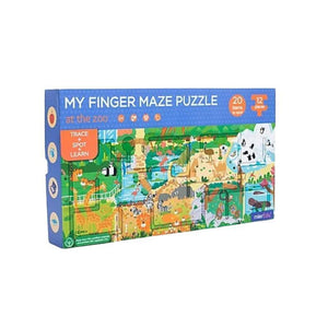 My Finger Maze Puzzle - At The Zoo-[product_vendor-My Happy Helpers