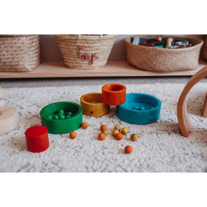 Natural Coloured Nesting and Stacking Bowls-[product_vendor-My Happy Helpers