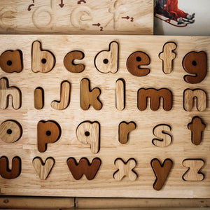 Natural Lower Case Letter Puzzle