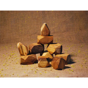 Natural Wooden Gems-Qtoys