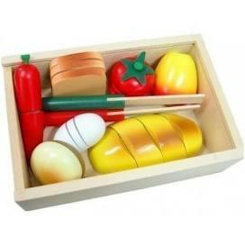 Pretend Play Wooden Cutting Bread Box-Fun Factory-My Happy Helpers