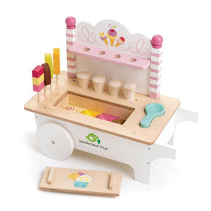 Push Along Ice Cream Cart-Tender Leaf Toys