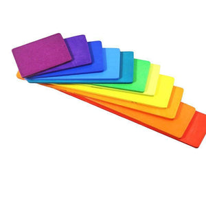 Rainbow Building Blocks