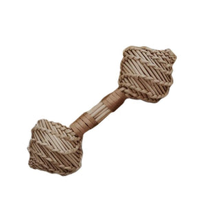 Rattan Double Maraca - Babynoise-[product_vendor-My Happy Helpers