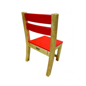Red Seat Stacking Chair
