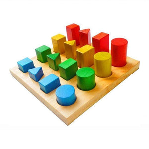 Shape & Size Sorting Board