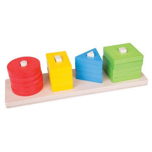 Shape Sorting Board-Bigjigs