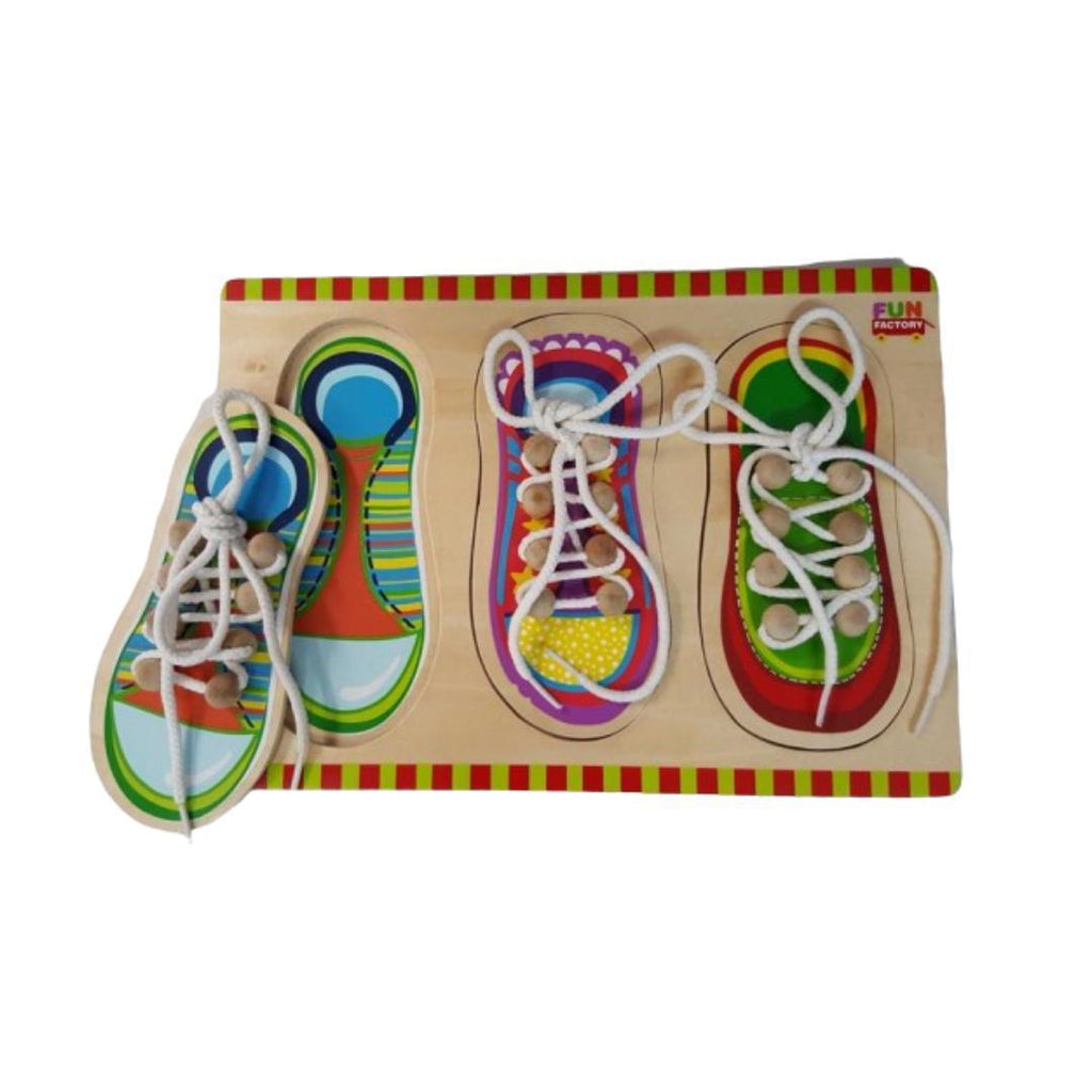 Shoe Lacing Puzzle-Fun Factory-My Happy Helpers