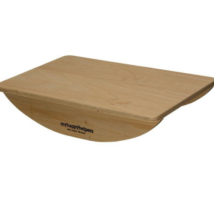 Small Wooden Rocker Balance Board