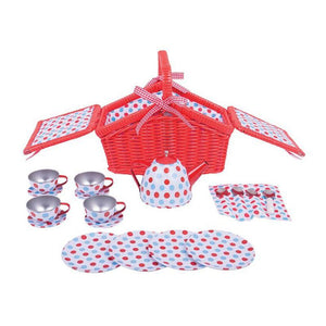 Spotted Basket Tea Set-[product_vendor-My Happy Helpers