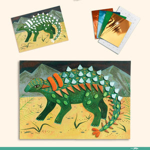 The World of Dinosaurs - Multi Craft Kit-Djeco