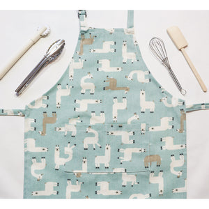 Toddler Llama Apron for Craft and Cooking-[product_vendor-My Happy Helpers