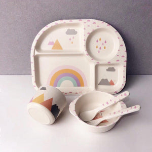 Toddler Rainbow Bowl Set-[product_vendor-My Happy Helpers