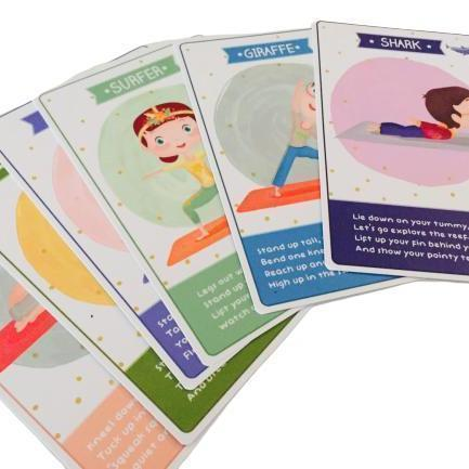 Toddler Yoga Cards