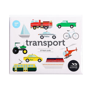 Transport Flashcards Set-[product_vendor-My Happy Helpers