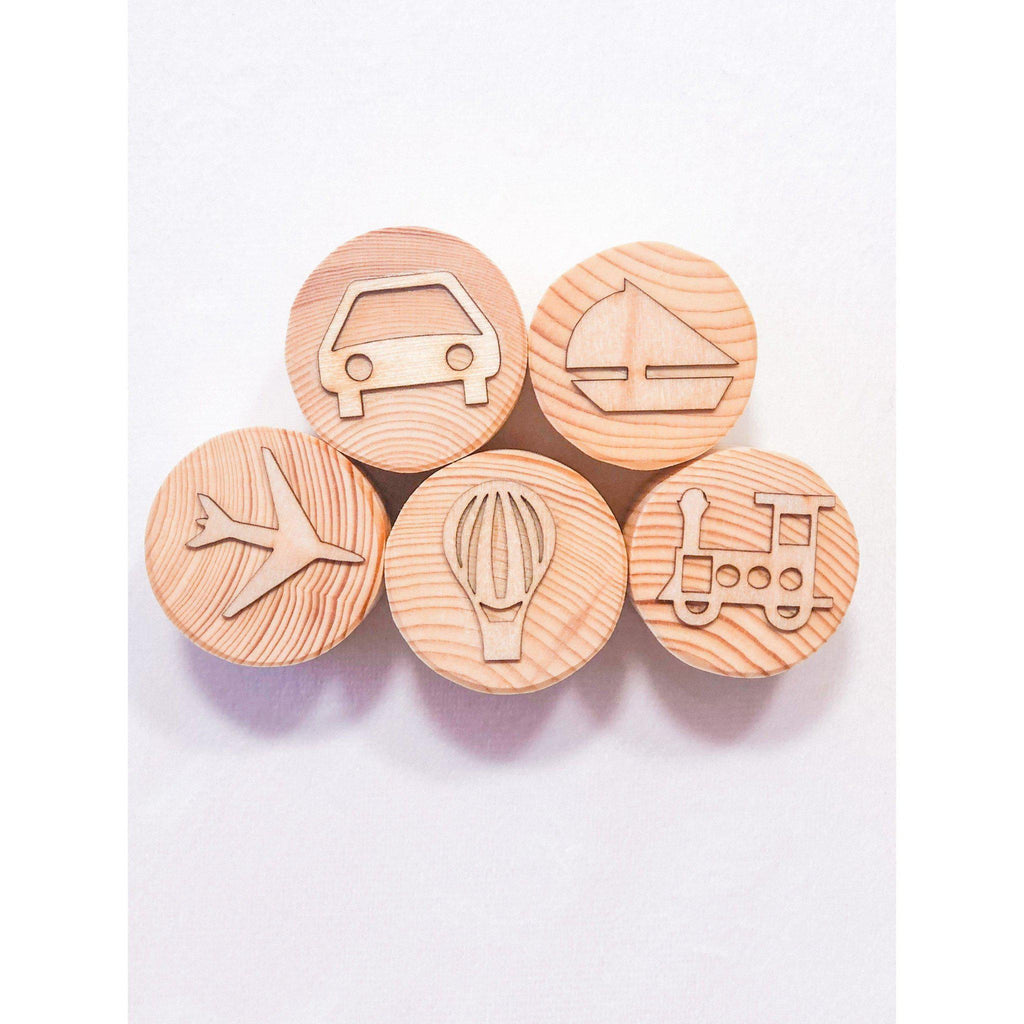 Transport Play Dough Stamps-[product_vendor-My Happy Helpers