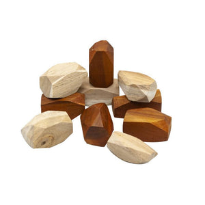 Two Tone Wooden Gems-[product_vendor-My Happy Helpers